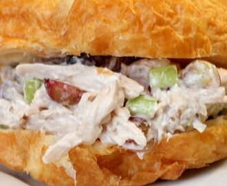 Simple Chicken Salad Sandwiches #SandwichRecipesWorldwide