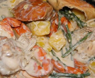 Crabs with Coconut Milk and Veggies (Spicy or Not) #FilipinoFoodsPhilippines