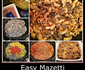 Starter Recipe: Easy Mazetti