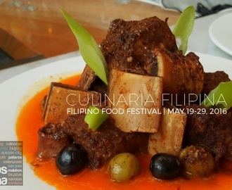 Culinaria Filipina | a Filipino Food Festival at Diamond Hotel