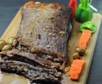 CHRISTMAS EVE'S SLOW ROASTED BEEF