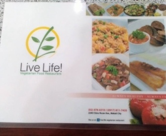 Live Life Vegetarian Restaurant Food Review in Makati: Discovering the wonders of healthy and delicious vegan meals