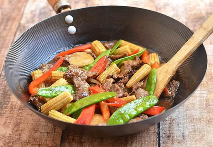 Beef and Baby Corn Stir-fry