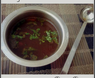 Pepper Rasam/ Pepper Spiced Broth