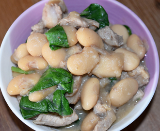 Ginisang Bitsuelas - Sautéed Beans with Pork