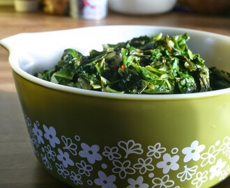 Easy Swiss Chard (Vegan, Gluten Free and Soy Free)