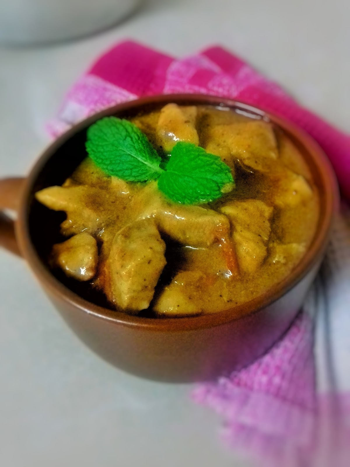 WEEKEND CHICKEN CURRY
