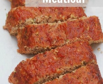 Weight Watchers Turkey Meatloaf with Quinoa & Zucchini