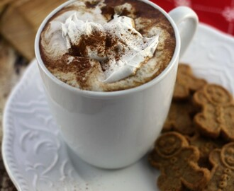Gingerbread Hot Chocolate #TKeveryday