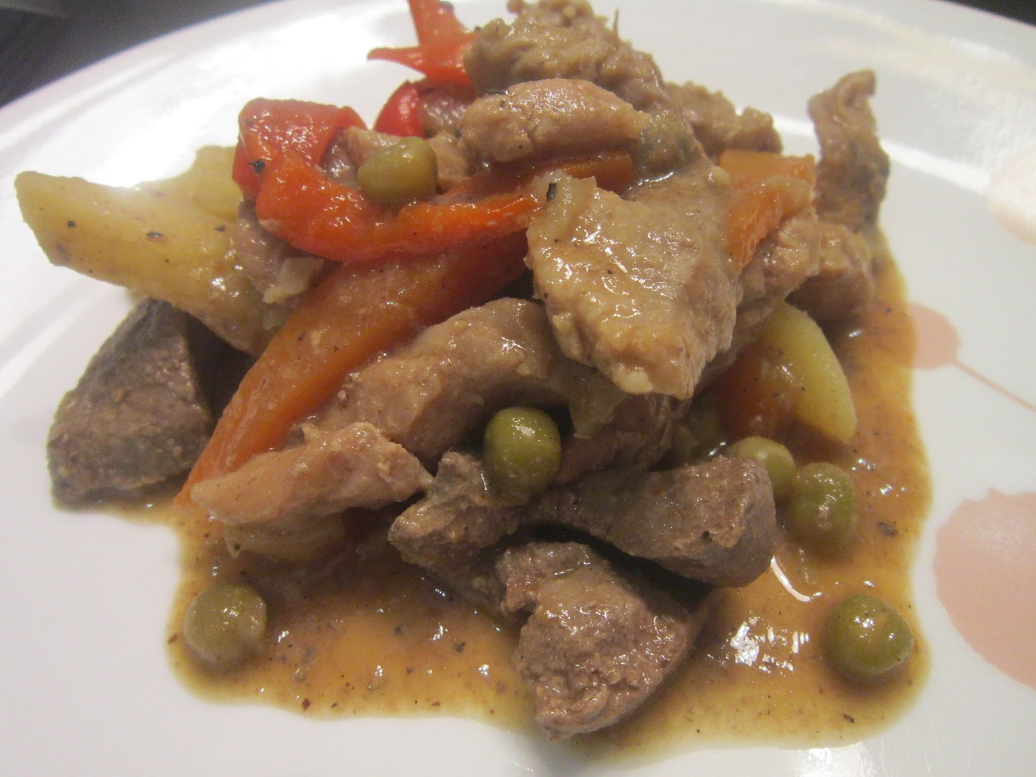 HIGADILLO (Pork and Liver Stew)