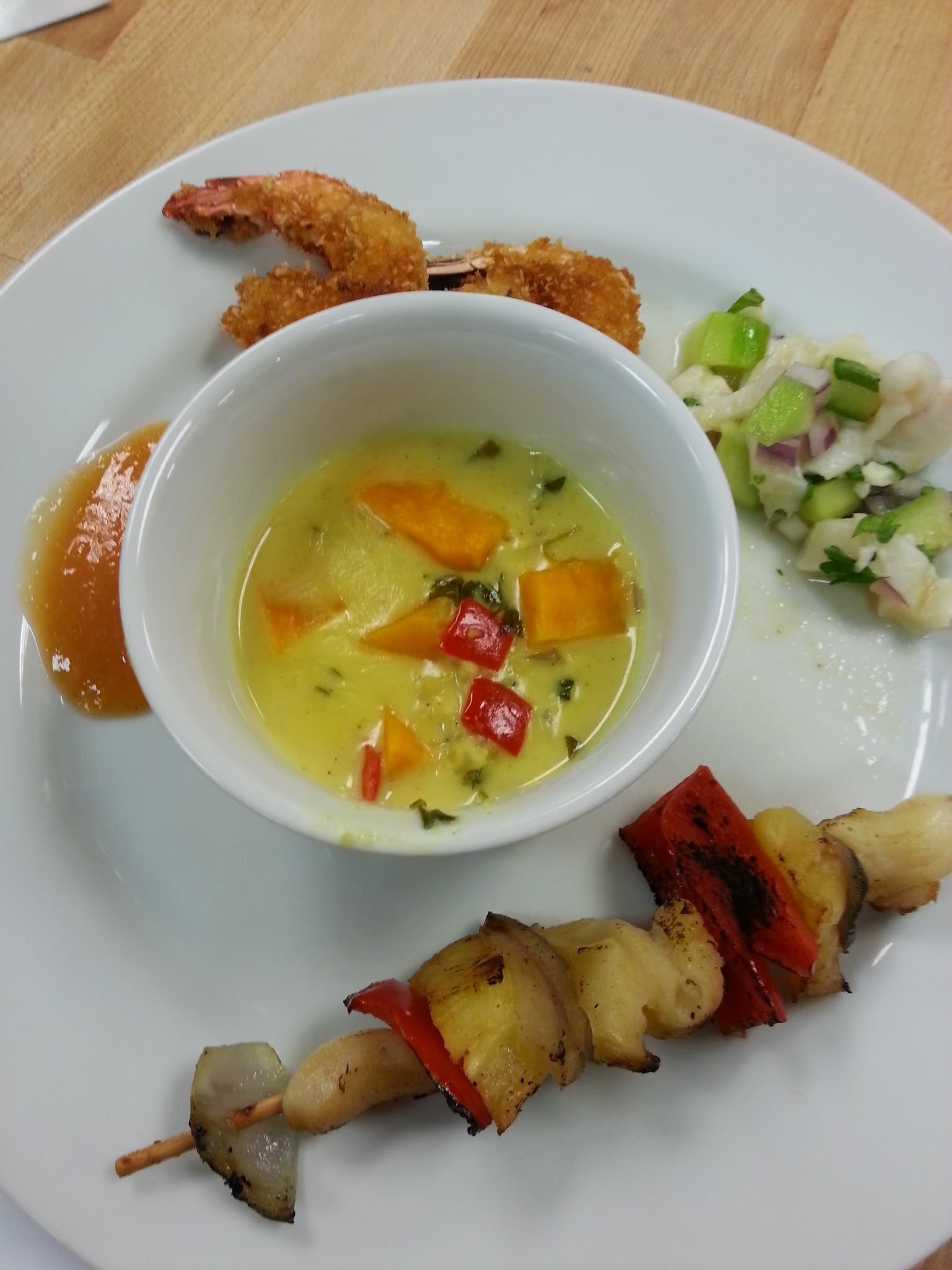Ric Orlando's Tropical Treats, Coconut Shrimp and Conch three ways....