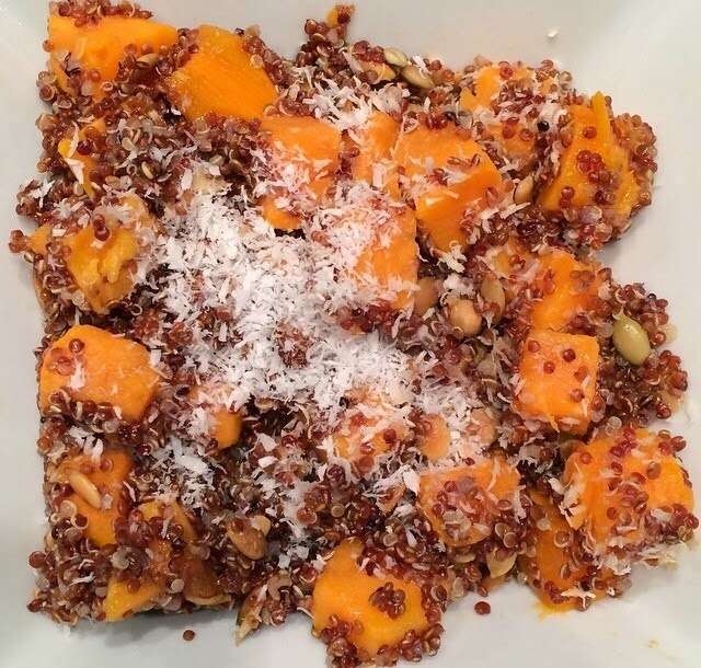 Sweet Potato and Coconut Quinoa Salad