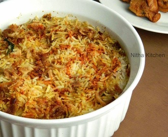 Chicken Tikka Dum Biryani | How to make Biriyani in Oven