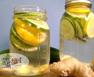 Cucumber Lemon Water Recipe for Detox