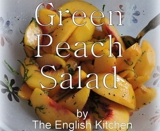 Green Peach Salad