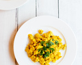 back to basics ~ tofu scramble