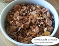 Homemade granola mix- How to make muesli or granola mix in Indian way?
