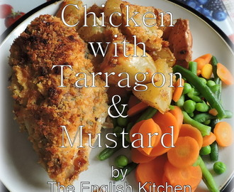 Baked Chicken with Tarragon and Dijon Mustard