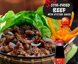 Stir-Fried Beef with Oyster Sauce Recipe