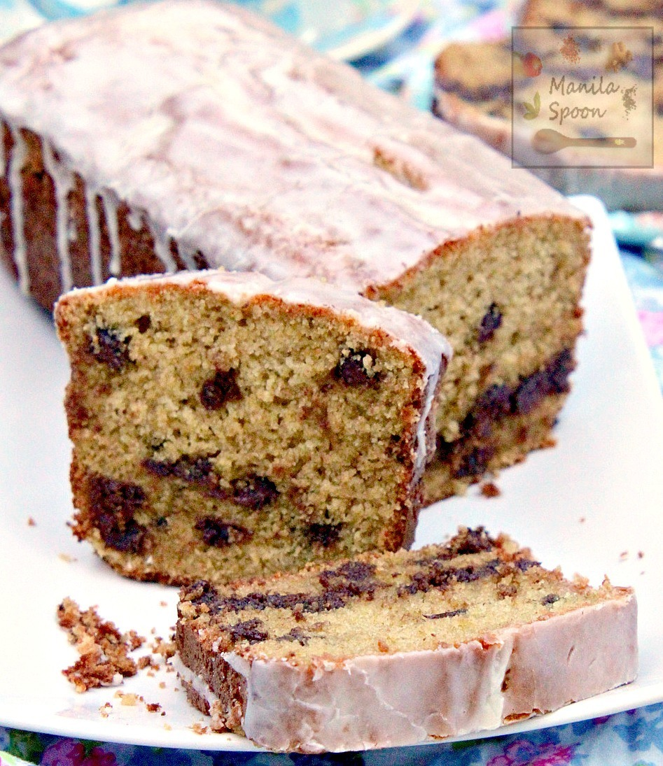 Chocolate Chip Ricotta Pound Cake