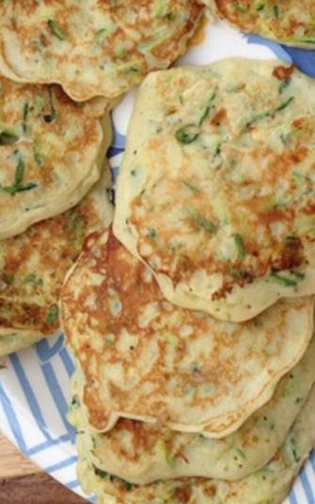 Simple Zucchini Pancakes