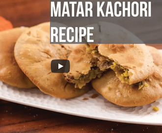 Matar Kachori Recipe Video