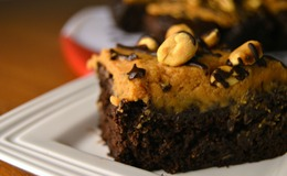 Peanut butter brownies gluten free