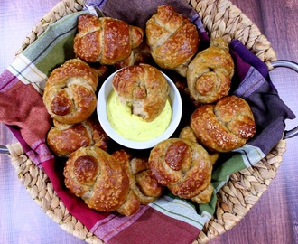 Whole Wheat, Beer and Dill Pretzel Knots