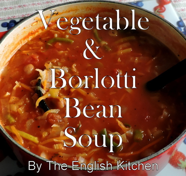 Vegetable & Borlotti Bean Soup