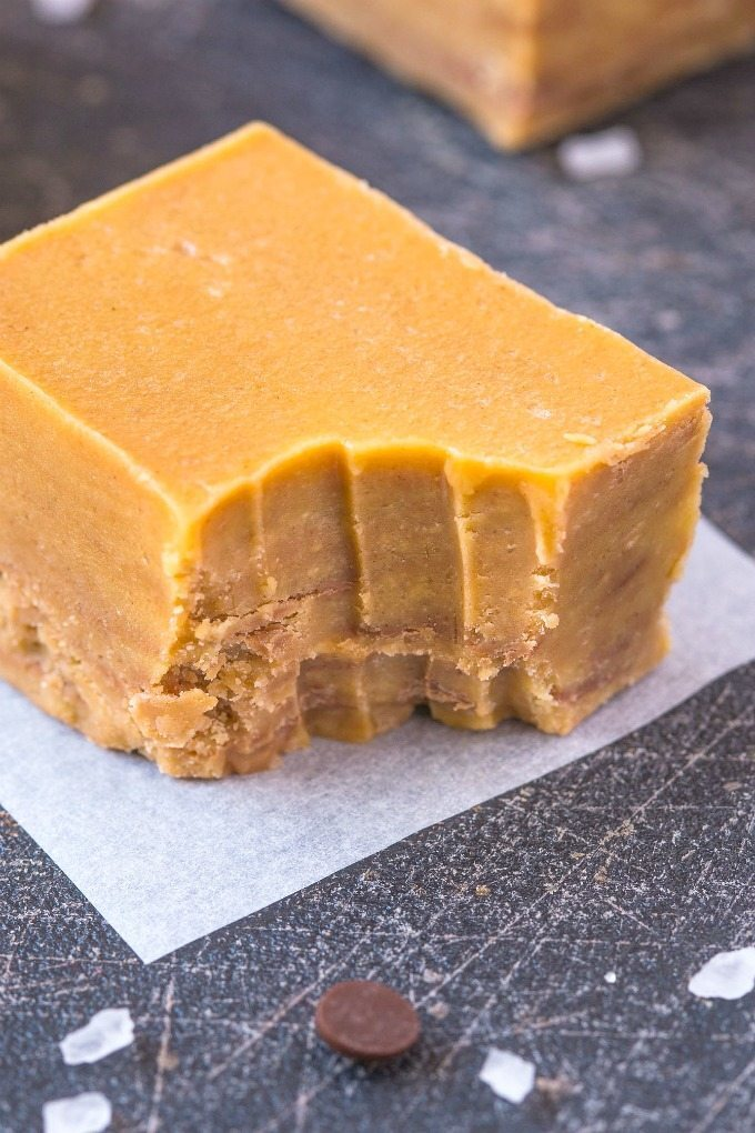 Healthy 4 Ingredient Banana Chocolate Chunky Monkey Fudge