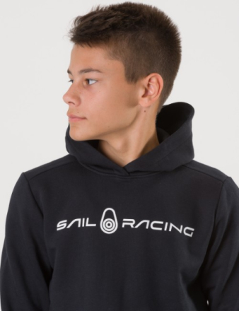 Sail Racing JR BOWMAN HOOD Svart Huvtröjor till Tjej