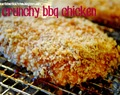 throwback thursday.. crunchy bbq chicken
