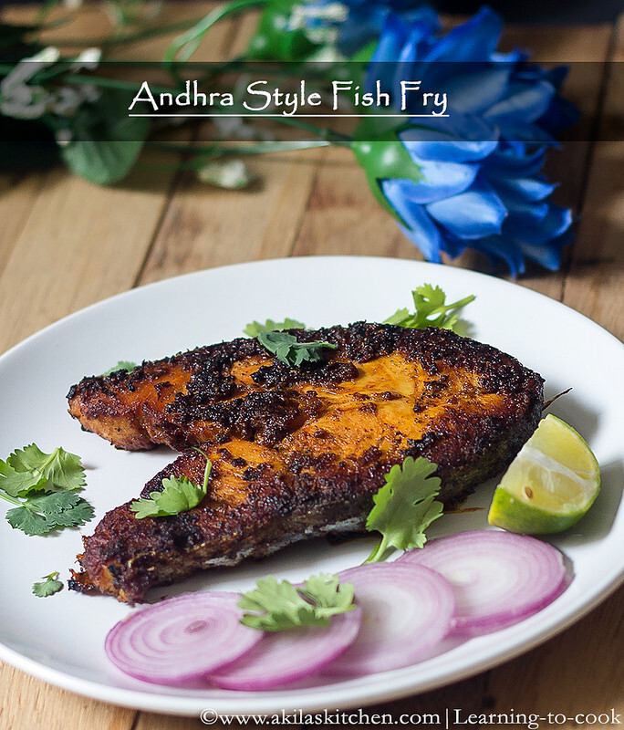 Andhra style Fish Fry | South Indian Fish Fry recipes | Easy fish fry recipes | King fish fry in Andhra style