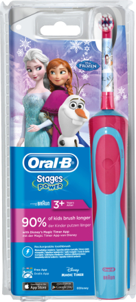 Oral-B Stages Kids eltandborste med figurer från Frozen