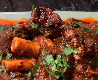 Laal Maas- Rajasthani Red Mutton Curry….