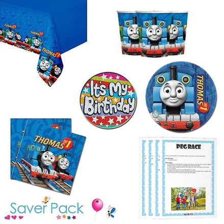 Parties Wrapped Up Thomas Tank Engine parti porslin spararen packa ...