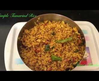 Simple Tamarind Rice