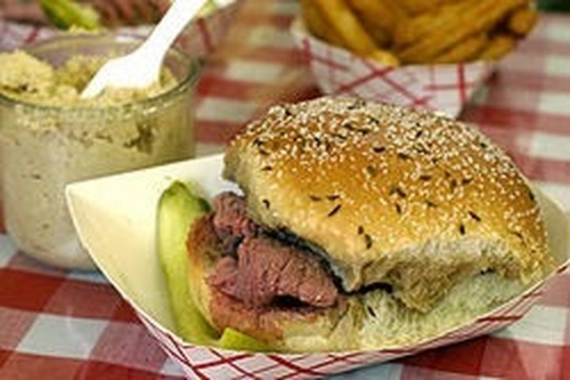 One of America's Favorites - Beef on Weck