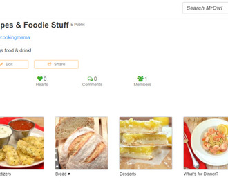 MrOwl – A Place for My Recipe Collections