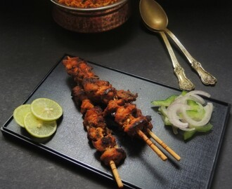 OVEN GRILLED CHICKEN TIKKA