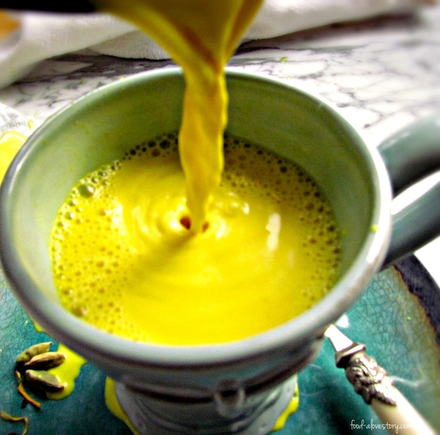 Golden Milk: Sunshine in a Cup