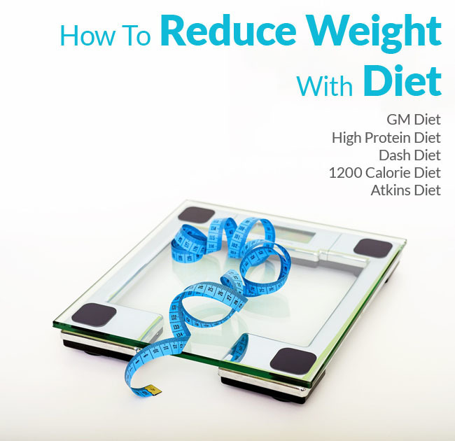 How To Reduce Weight With Diet- GM Diet Plan and More
