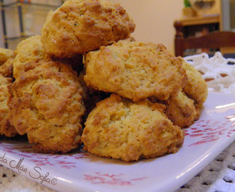 Bolachas de aveia e coco / Oatmeal and coconut cookies