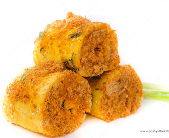 Chicken Floss Roll ( Roti Gulung Abon Ayam)