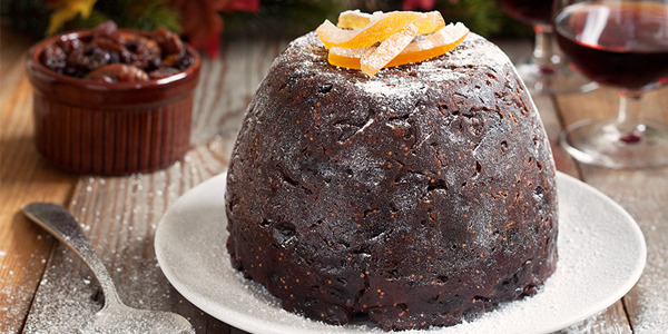 Orange, Fig and Almond Christmas Pudding Recipe