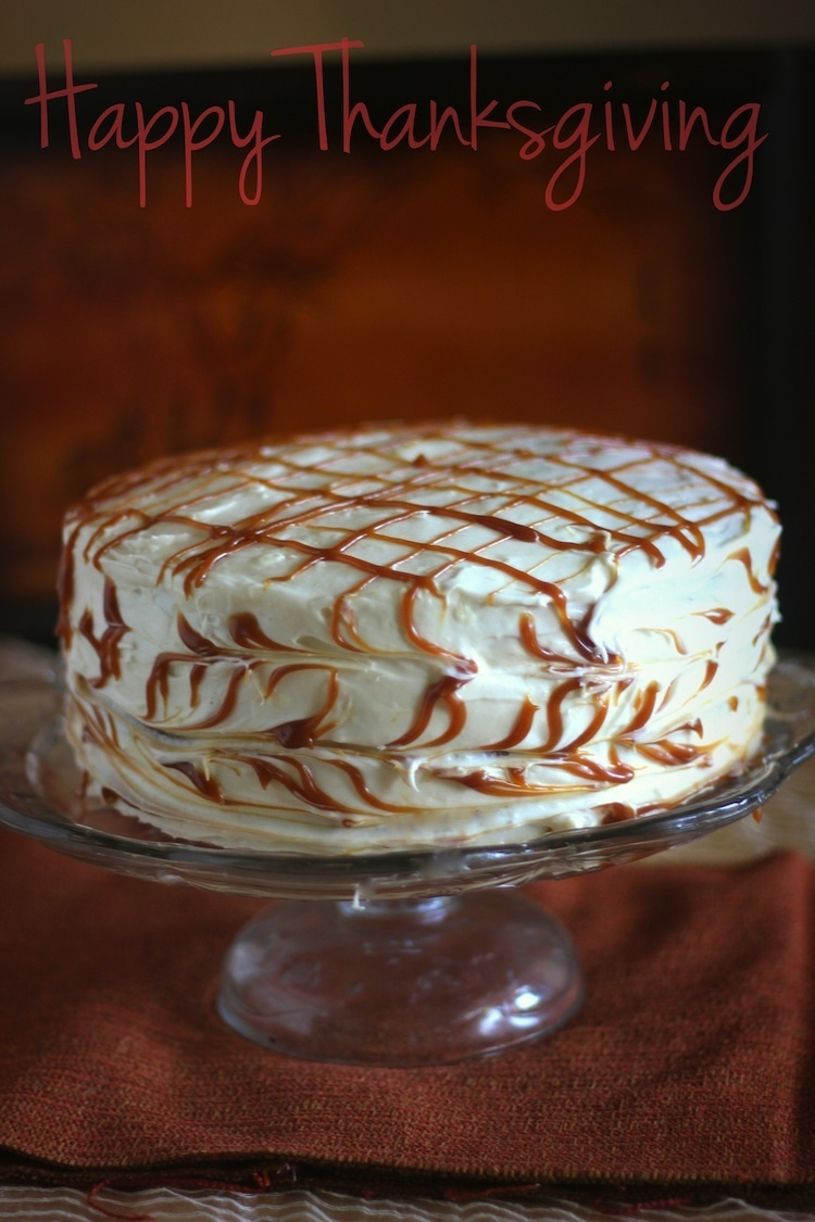Pumpkin Spice Layer Cake with Cream Cheese Frosting
