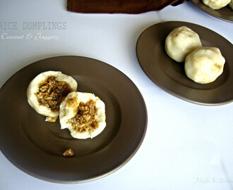 Kozhukkatta | Kerala Rice Dumplings (Guest Post by Nish Kitchen)