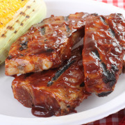 Sweet hot spareribs