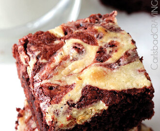 Red Velvet Oreo Swirl Brownies