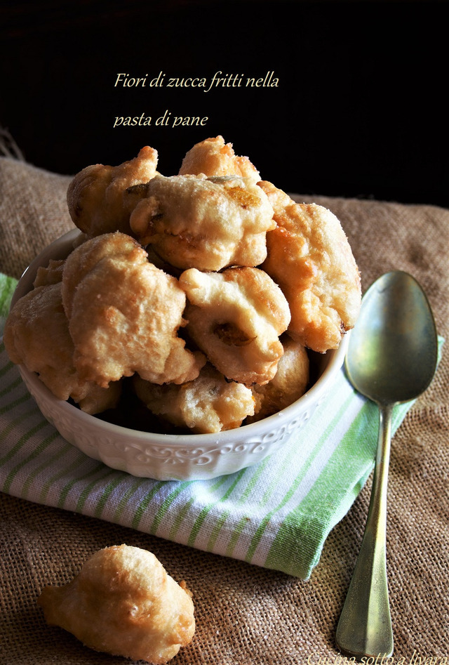 Fiori Fritti.Fiori Di Zucca Fritti Nella Pasta Di Pane Ricetta Da Mytaste